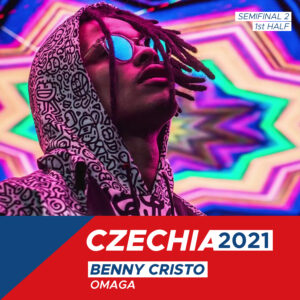 """Czech Republic 2021: Benny Cristo """"Omaga"""""""